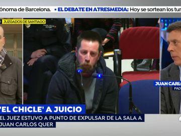Juan Carlos Quer, sobre el juicio del 'el chicle'