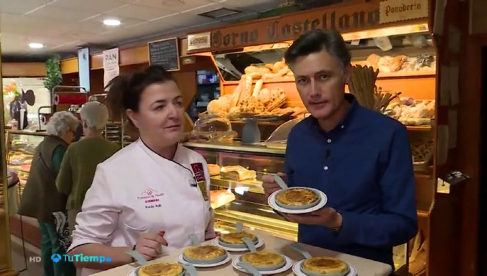 Toni Baena trae la 'torrija-tortilla' a 'Tu Tiempo'