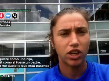 """Sara Sorribes defiende a su entrenador: """"Es como un padre para mí, hizo su trabajo como profesional"""""""