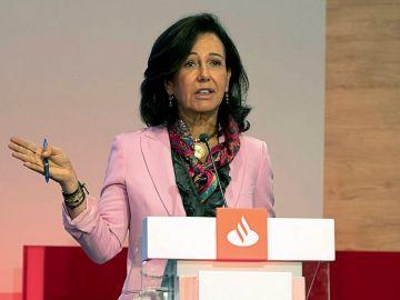 Imagen de Ana Patricia Botín durante un acto del Santander