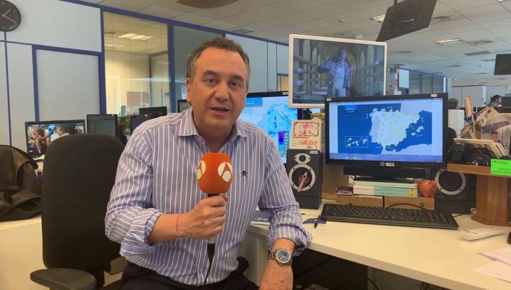 La previsión del tiempo en Semana Santa, la última hora por Roberto Brasero