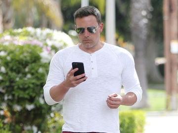 La foto que demuestra que Ben Affleck se está poniendo de nuevo en forma