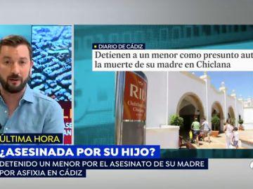 Detenido un menor por la muerte de su madre en Chiclana