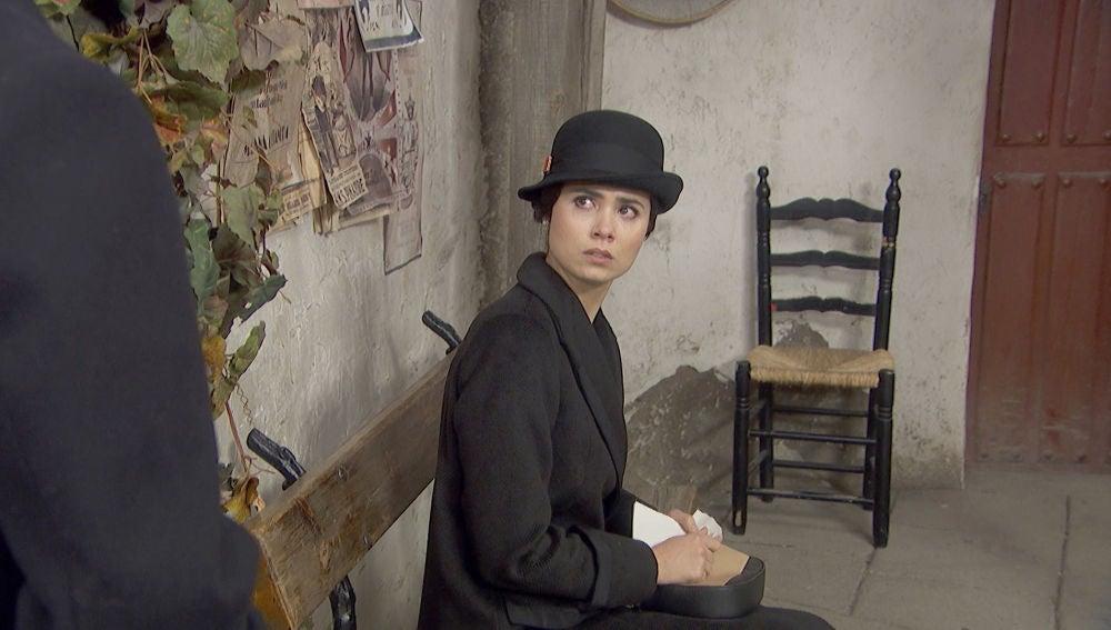 """María recibe una visita inesperada del pasado: """"Buenas tardes"""""""