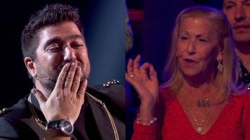 La madre de Antonio Orozco interviene en directo en la final de 'La Voz'