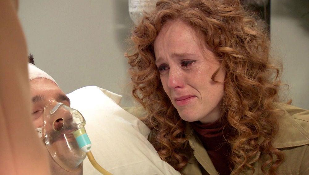 "Natalia visita a Carlos a escondidas: ""Por favor, no te rindas"""