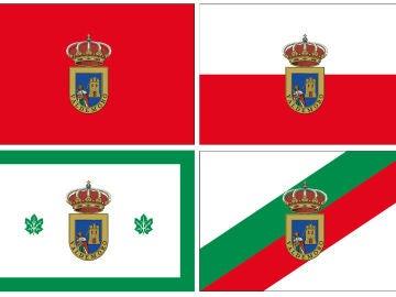 Las propuestas de banderas del Ayuntamiento de Valdemoro para que sus vecinos voten