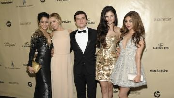 Sarah Hyland, Vanessa Hudgens, Ashley Tisdale, Selena Gomez y  Josh Hutcherson