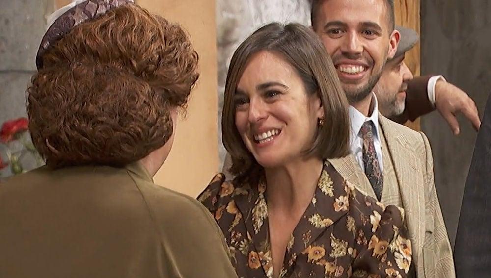 Gracia vuelve a Puente Viejo tras ser mamá