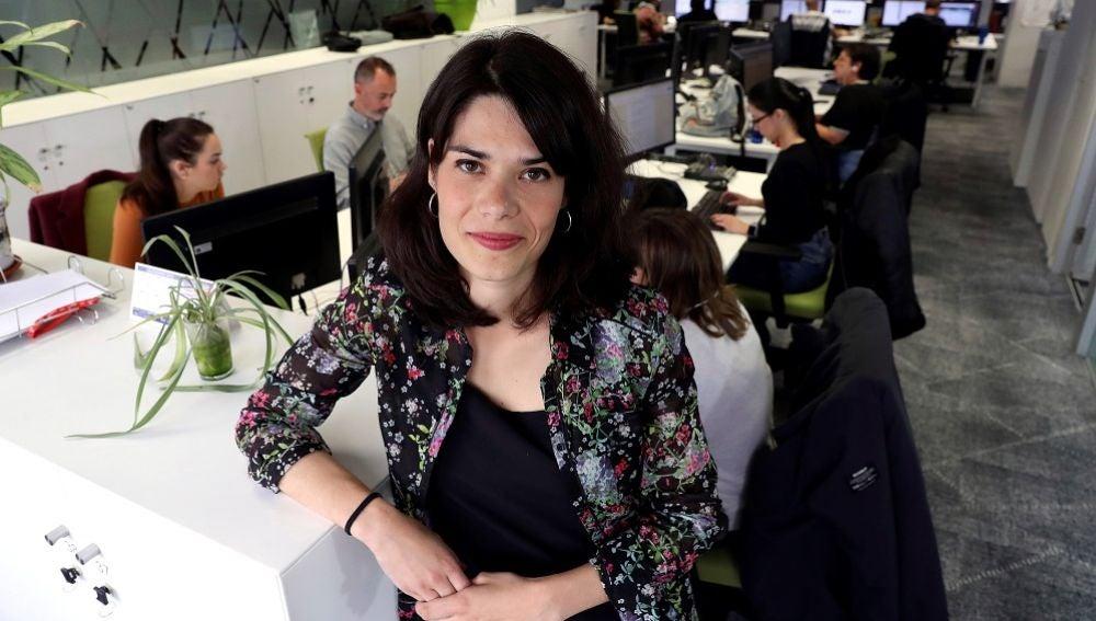 La candidata de Podemos a la Comunidad de Madrid, Isa Serra