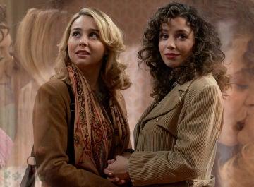 Las escenas más románticas de Luisita y Amelia en 'Amar es para siempre'