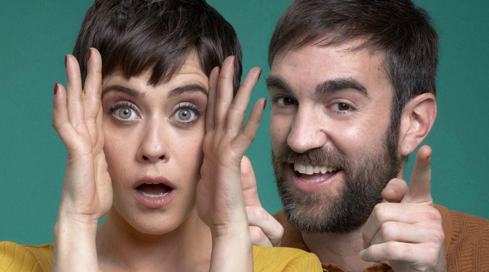 María León y Jon Plazaola, protagonistas de 'Allí abajo'