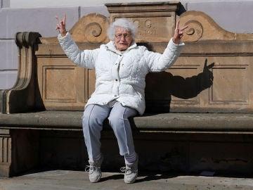 La anciana que se presenta a las elecciones