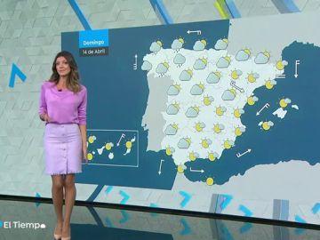 La semana acabará con lluvia débil en Galicia y Cantábrico y más calor