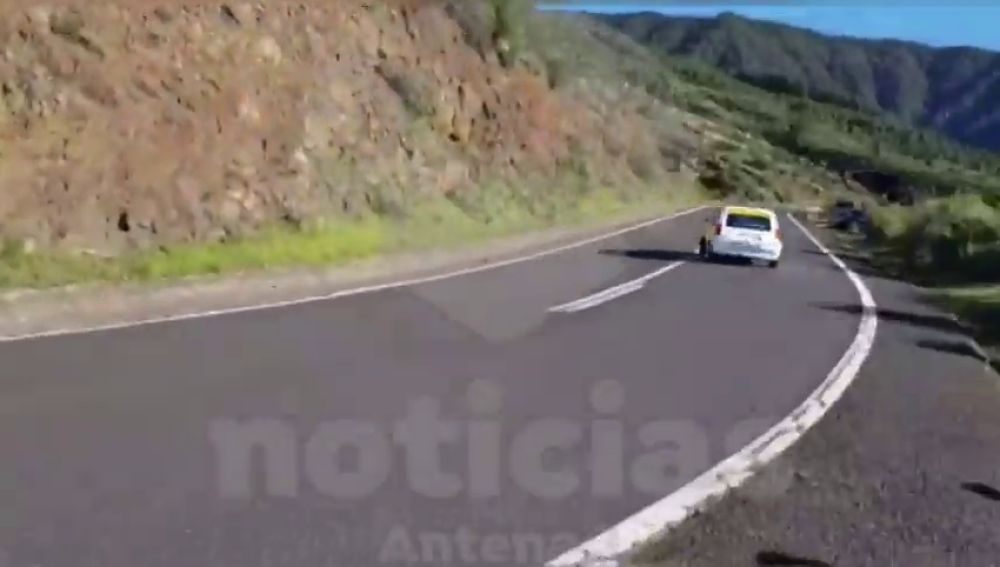 Grave accidente en un rally de Tenerife
