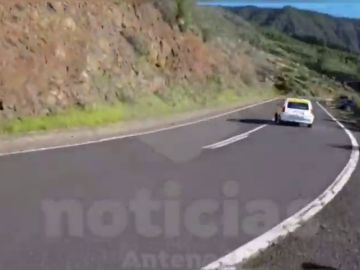 Grave accidente en un rally de Tenerife