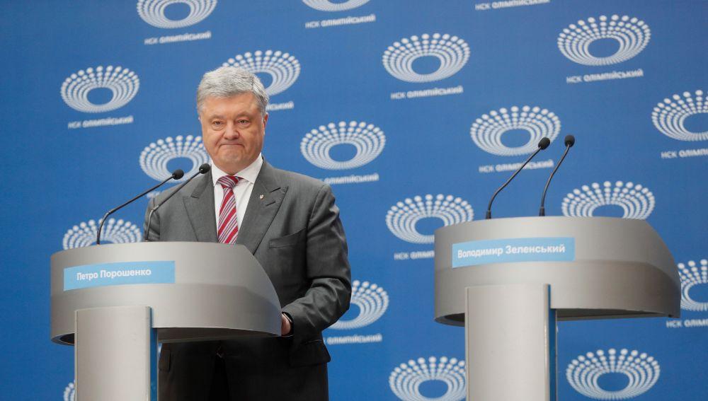 El actual presidente de Ucrania, Petró Poroshenko