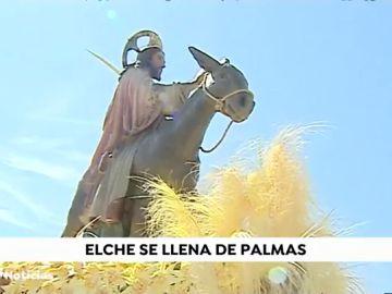 Las procesiones de Palma y Sevilla...