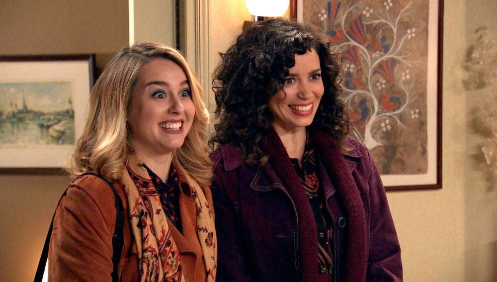 La extraña reacción de María e Ignacio a la gran noticia de Luisita y Amelia