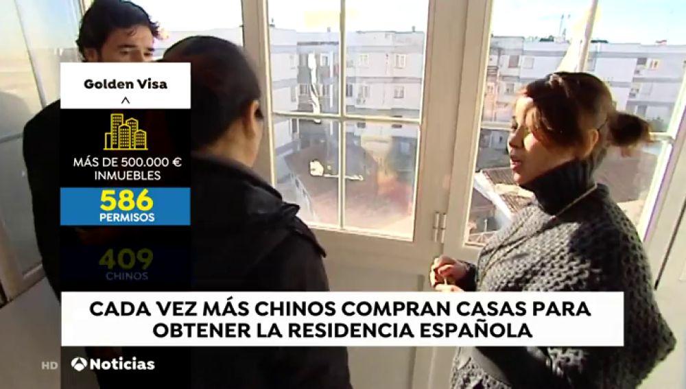 Cada vez más ciudadanos chinos compran vivienda en España para conseguir la residencia