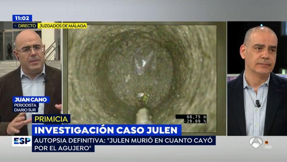 Julen murió en el momento de la caída al pozo de un golpe en la cabeza, según la autopsia definitiva