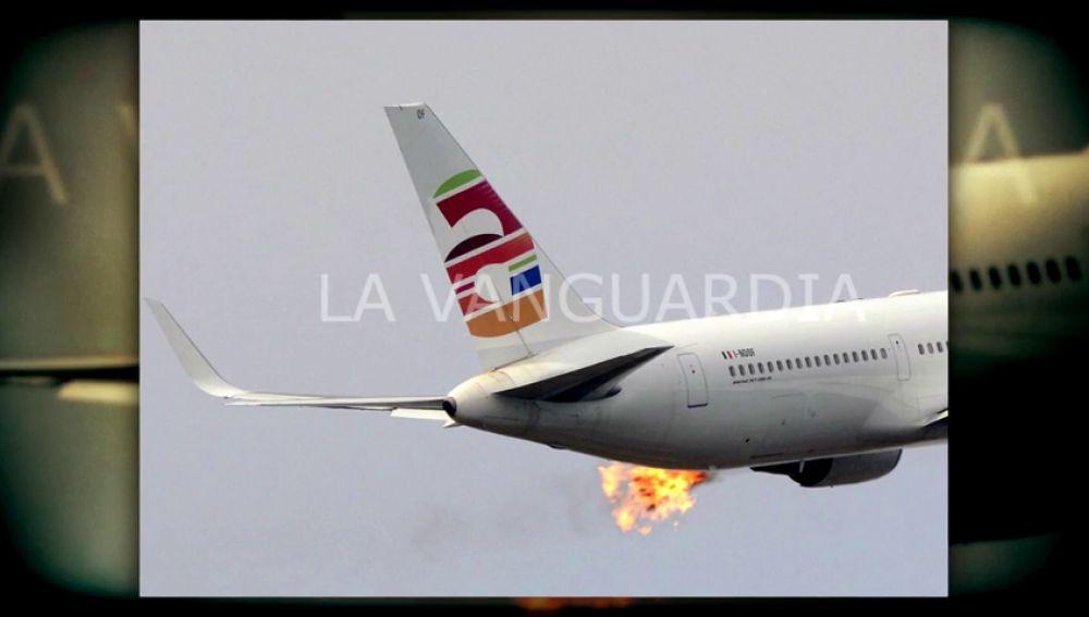 Un incendio en uno de sus motores obliga a un avión Barcelona-Tel Aviv a aterrizar de nuevo en el aeropuerto de El Prat