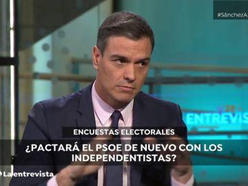 Vídeo: Pedro Sánchez, dispuesto a aplicar el 155 en Cataluña si vuelve a ser necesario
