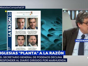 Francisco Marhuenda, director de 'La Razón'