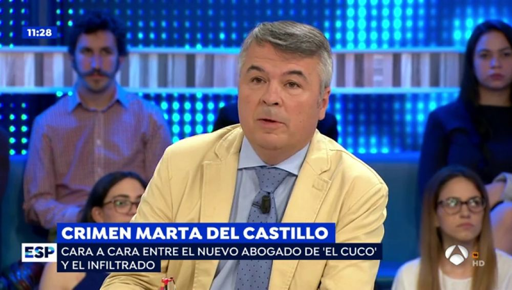 Agustín Martínez, abogado de 'el cuco'