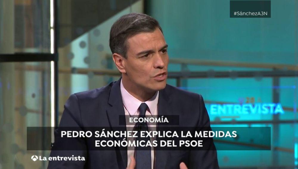 """Pedro Sánchez, sobre la economía: """"Hemos demostrado que una politica económica rigurosa es compatible con la política social"""""""