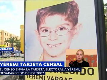 Yéremi Vargas, desaparecido en 2007