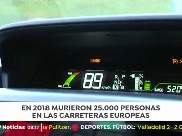 Limitador de velocidad en los vehículos