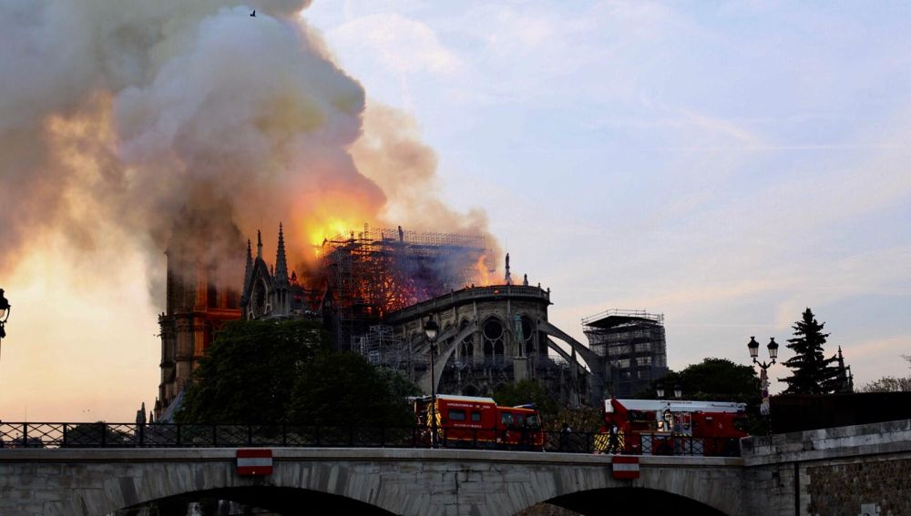 Incendio en Notre Dame
