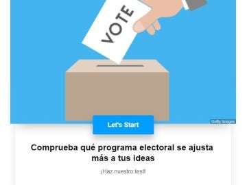 Test sobre los programas electorales