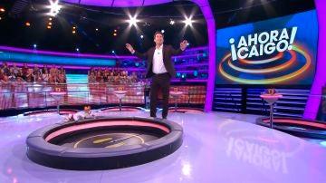 La espectacular ovación del público a Arturo Valls en '¡Ahora caigo!'
