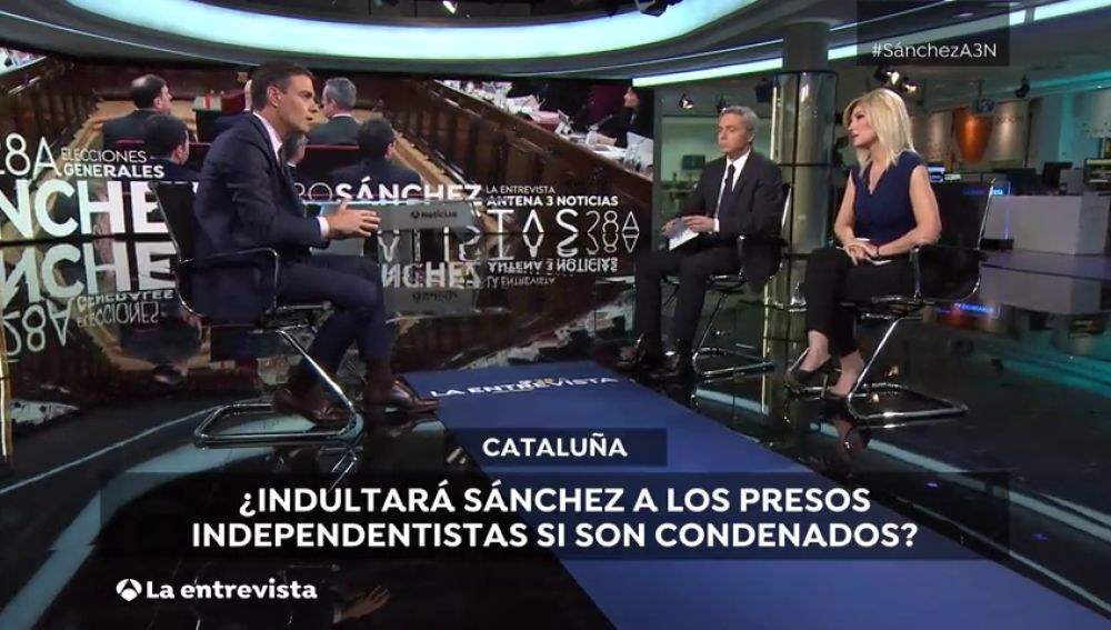 """Pedro Sánchez sobre indultos: """"reprochado y ha reprobado la actitud y la estrategia de los independentistas por irresponsables"""""""