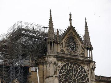 Imagen de Notre Dame tras el incendio
