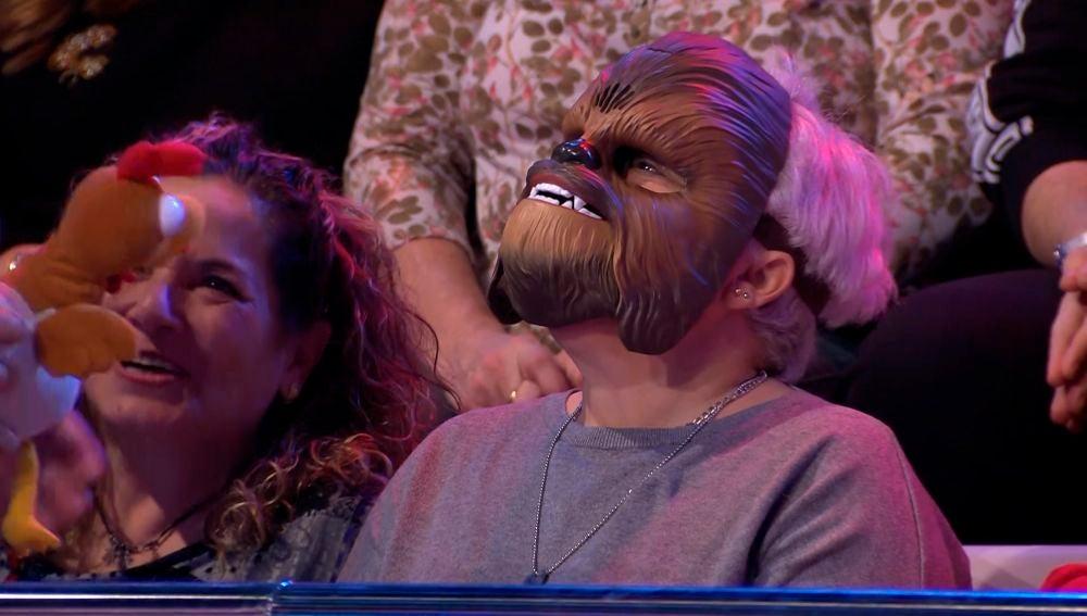 La sorprendente visita de Chewbacca en '¡Ahora caigo!'
