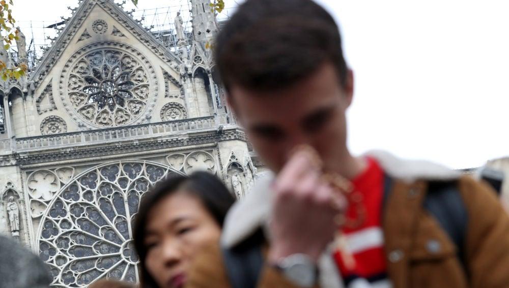 Conmoción en Francia tras el incendio de Notre Dame
