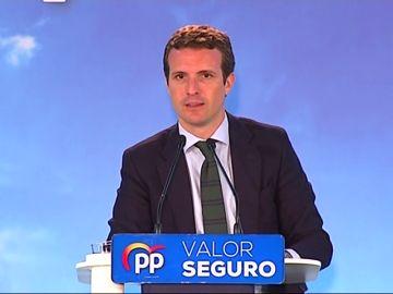 Pablo Casado responde a Sánchez sobre indultos: