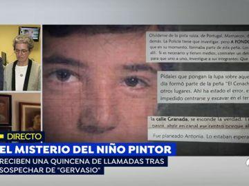 Se investiga la desaparición del 'niño pintor'