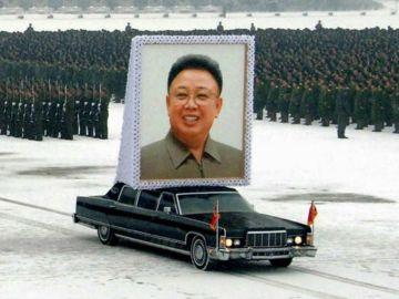 Procesión funebre de Kim Jong Il