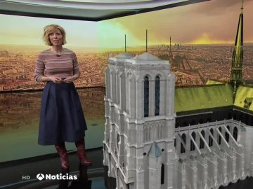 María José Sáez en Antena 3 Noticias