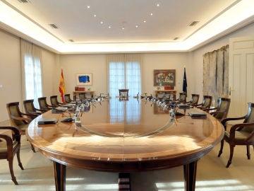 Sala de reuniones del Consejo de Ministros