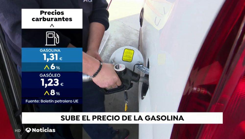 Sube el precio de la gasolina, otra vez