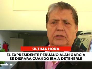 Alan García, expresidente peruano, se dispara al ser detenido por un caso de corrupción