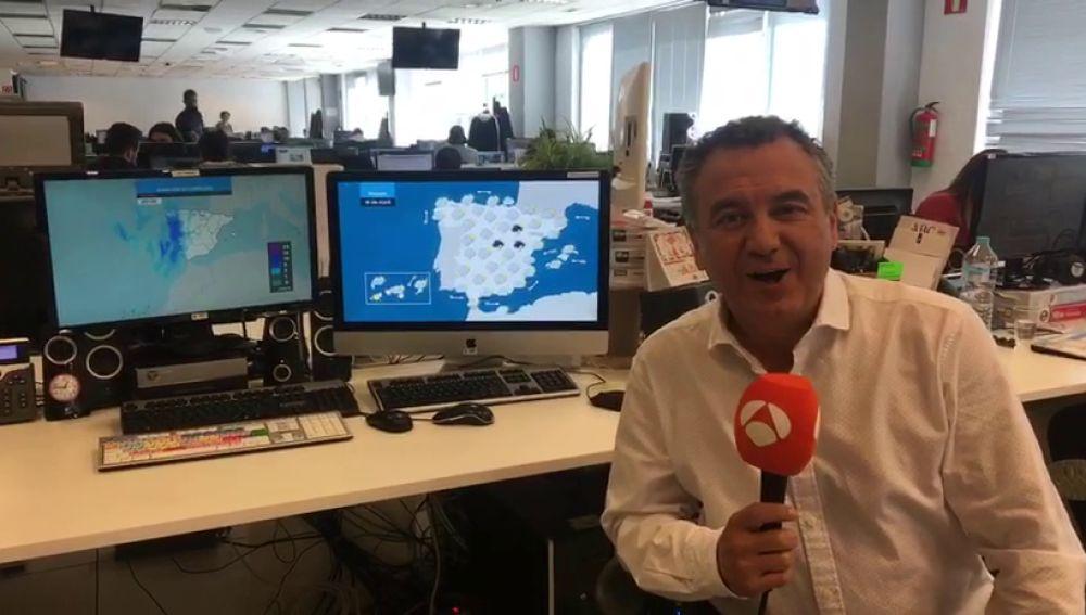 La previsión del tiempo de Roberto Brasero para esta Semana Santa