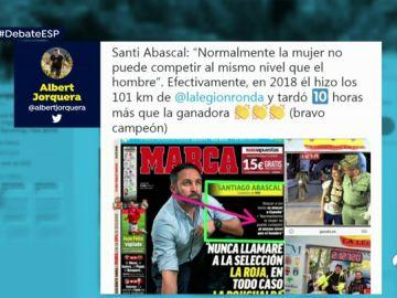 El 'zasca' a Santiago Abascal
