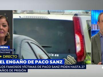 Charo Reina, víctima de Paco Sanz