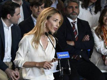 Cayetana Álvarez de Toledo en un acto del PP